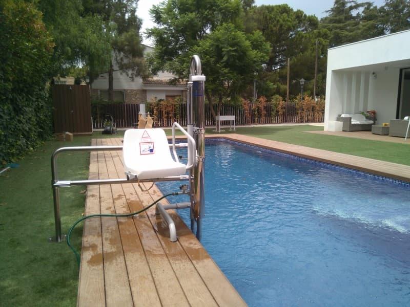 Simotec Elevador piscina Poseidon Murcia