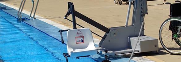 Plataforma elevadora para piscinas b400