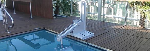 Plataforma elevadora para piscinas b600s