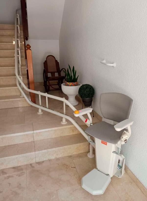 silla salvaescaleras elektra gris 1