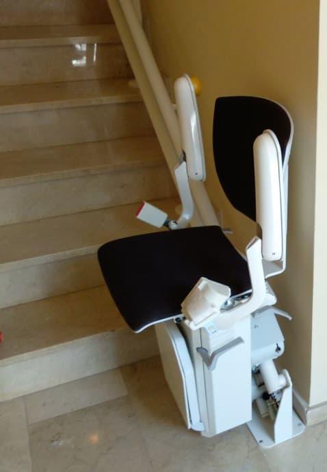 silla salvaescaleras elektra negra 1