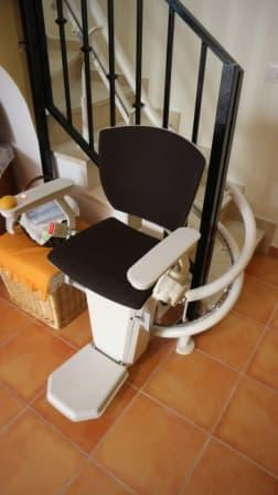 silla salvaescaleras elektra negra 2