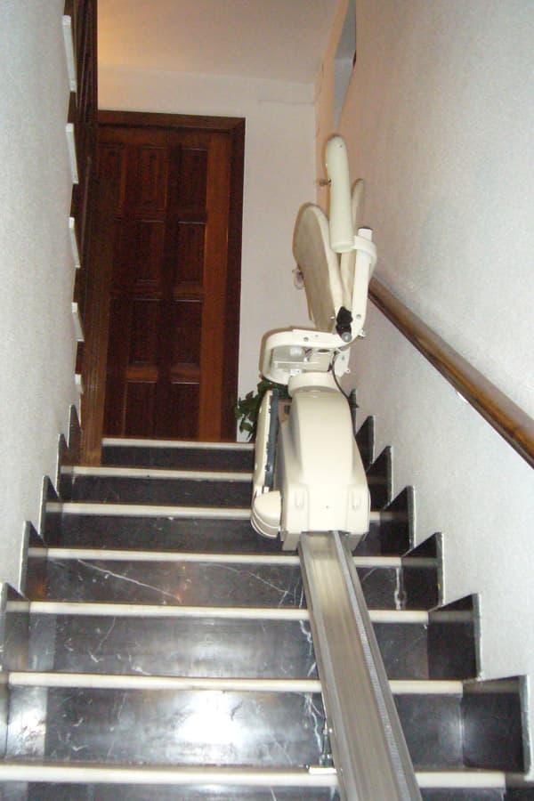 silla salvaescaleras recta artemis